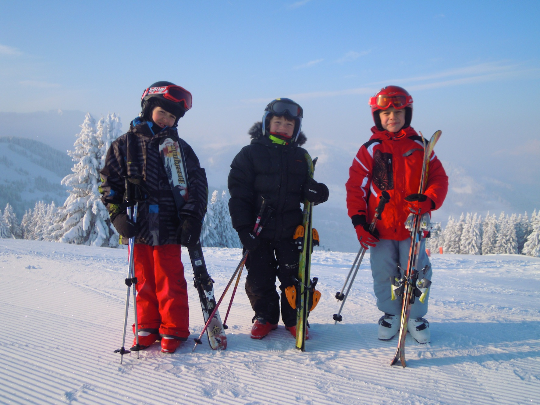 Cours collectifs ski 8 pers max/Group ski lesson 6/12 ans/15h00-17h00