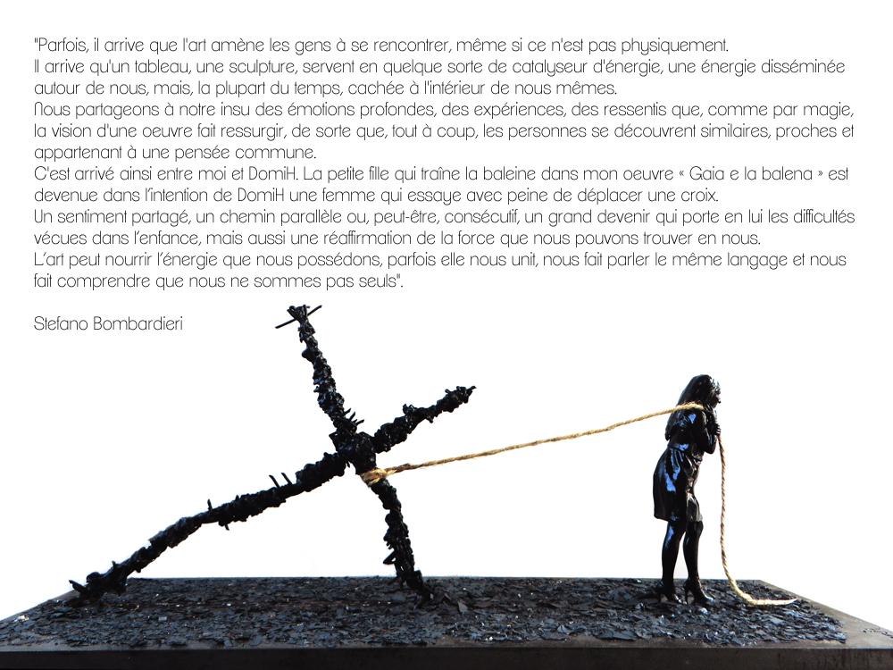 EGO de DomiH par Stefano Bombardieri