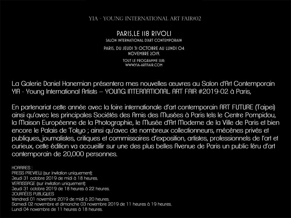 DomiH - SALON YIA – YOUNG INTERNATIONAL ART FAIR #2019-02