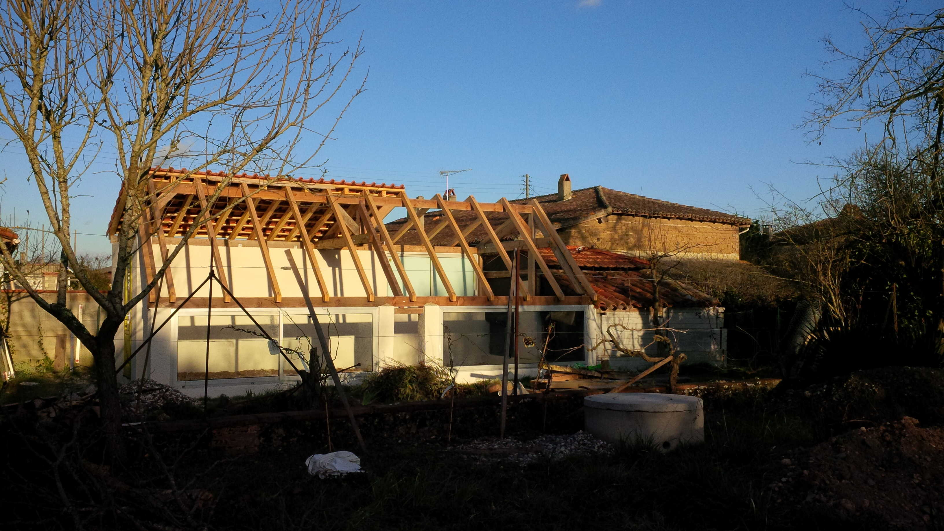 Construction serre bioclimatique Toulouse