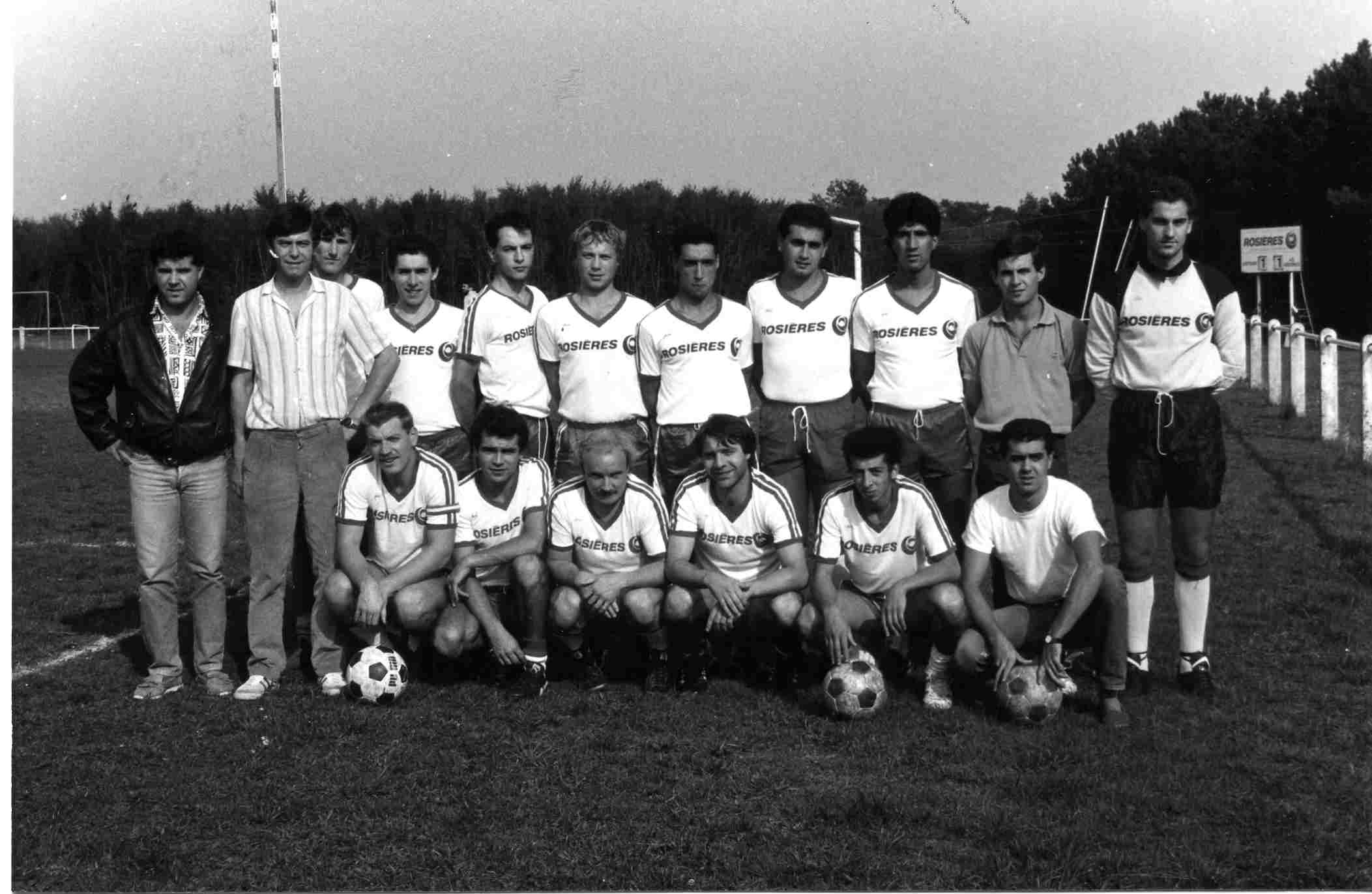Séniors 1B 1986-87 PD