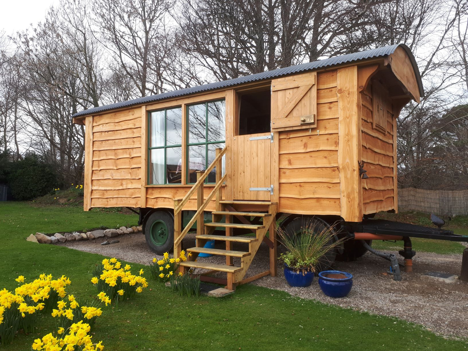 Shepherds Hut Living Van