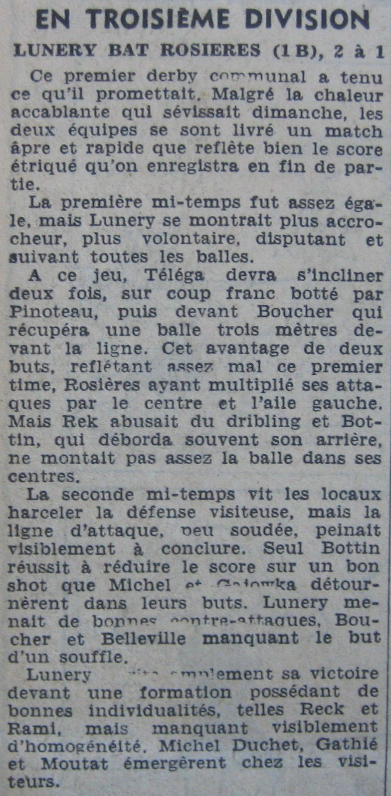 USR-RC Lunery le 13/09/64