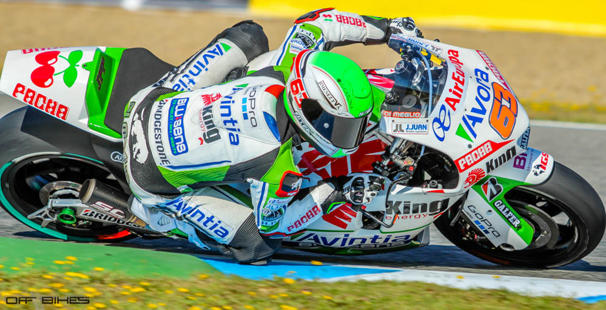Deux MotoGP au Legends Track Days at Serres