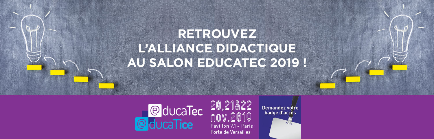 Educatec 2019  | Alliance Didactique