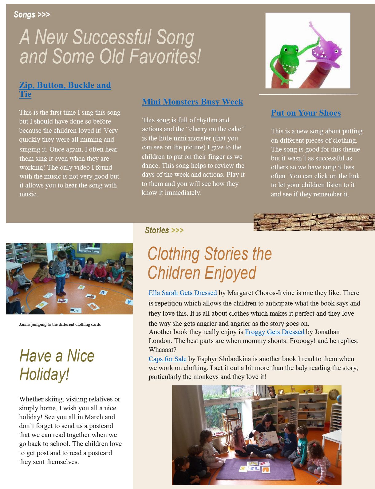 Page 2 Newsletter pdf format The