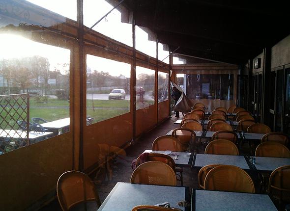 Abs atlantique baches services baches de terrasse et devanture de restaurant - Bache restaurant terras ...