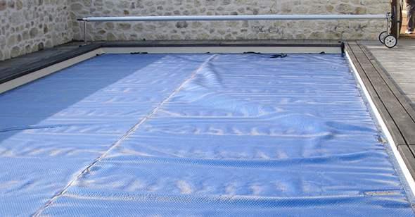 Abs atlantique baches services baches pour piscine for Bache ete piscine octogonale