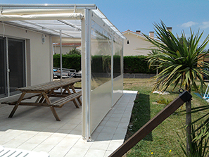 Abs atlantique baches services baches pour mobil home - Bache restaurant terras ...