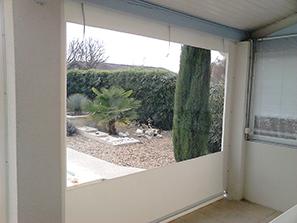 rideaux pour terrasse couverte cheap rideau pour terrasse exterieur rideau pour piscine a. Black Bedroom Furniture Sets. Home Design Ideas