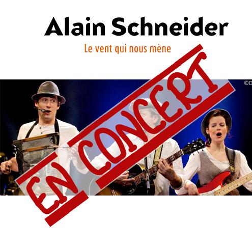 Alain Schneider en concert