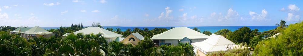 Anse des Rochers, vue mer depuis la terrasse du studio Zabrico 2