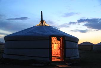 Yourte de Mongolie