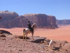 Voyage à cheval en Jordanie