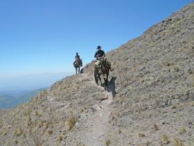 Voyage à cheval en Argentine dans la Cordillère des Andes