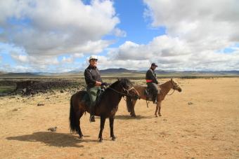 Monter à cheval en Mongolie