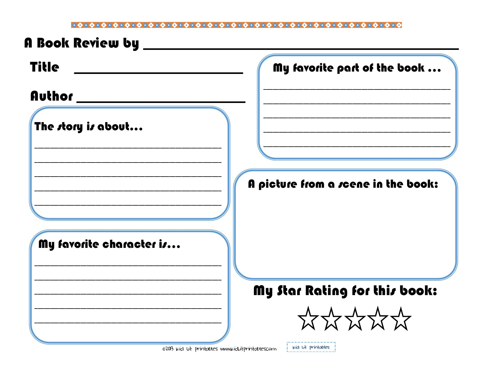 How to Write a Book Report | Kids gov