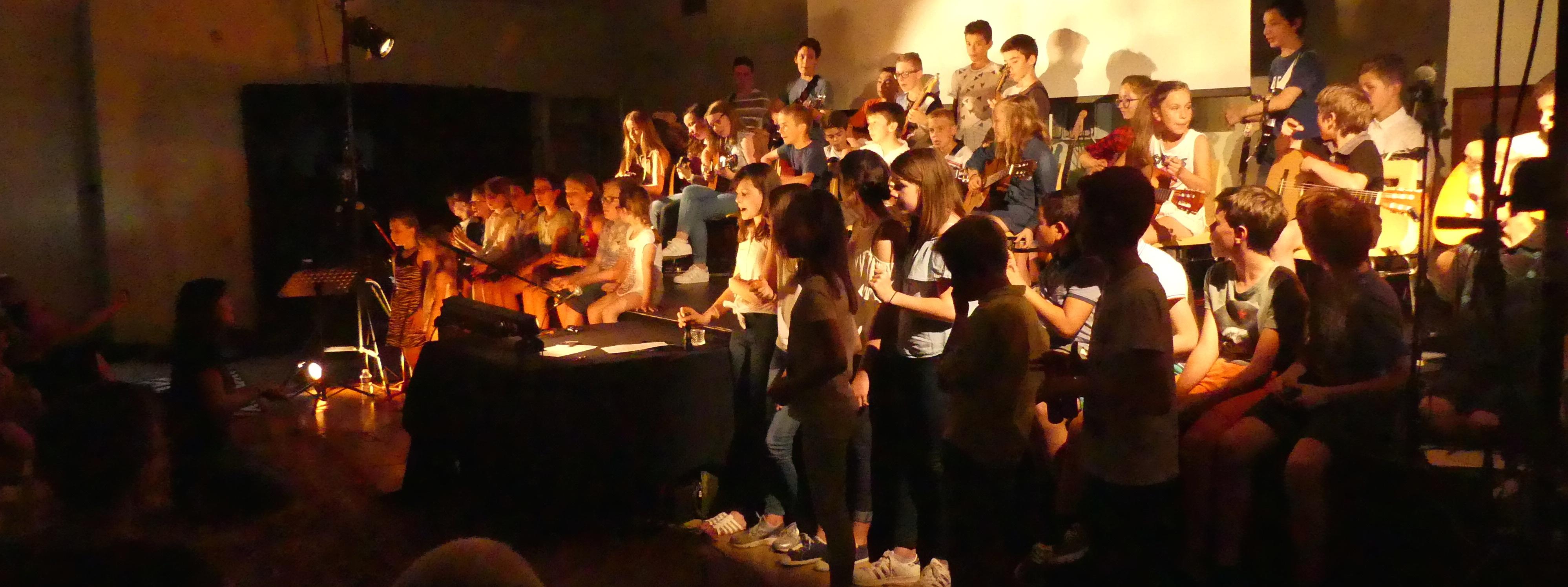 école de musique pour enfants