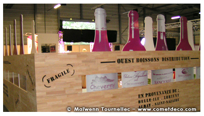 stand evenementiel - ouest boissons distribution