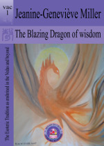 cover of The Blazing Dragon of Wisdom by Jeanine Miller