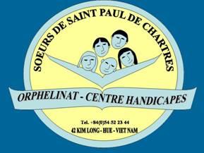 logo de l'orphelinat de Kim Long à Hué