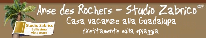 Anse des Rochers Studio Zabrico