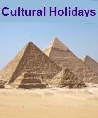 Cultural Holidays Giza Pyramids