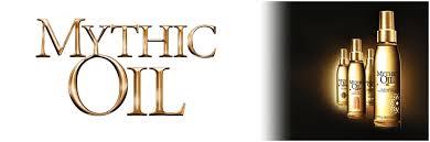 Le salon de coiffure vend les produits l'oreal de la gamme : Mythic Oil