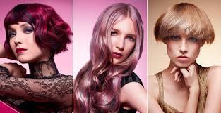 Coupe de coiffure long court : Auburn blond brun chatain