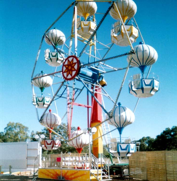 Grande roue Montgolfière