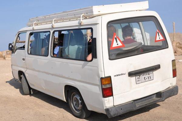 Transfer Hotel Marina minibus