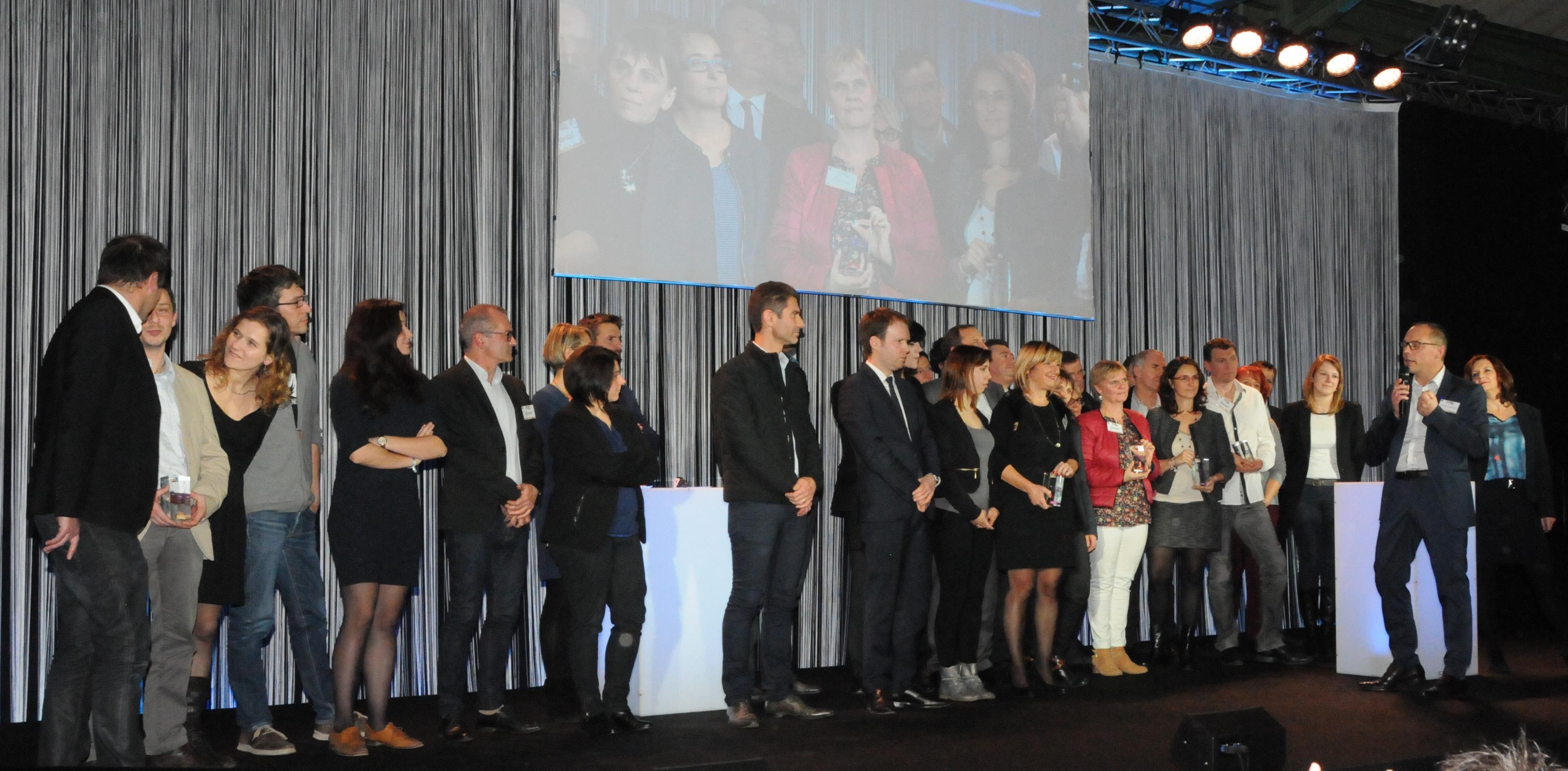 Trophées du Commerce soirée de remise des prix 2015