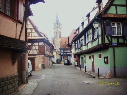 Les ruelles de Dambach la Ville