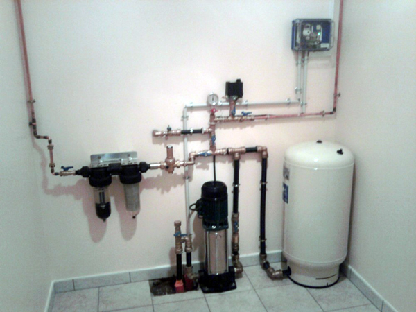 Sanitaire eau for Augmenter pression d eau