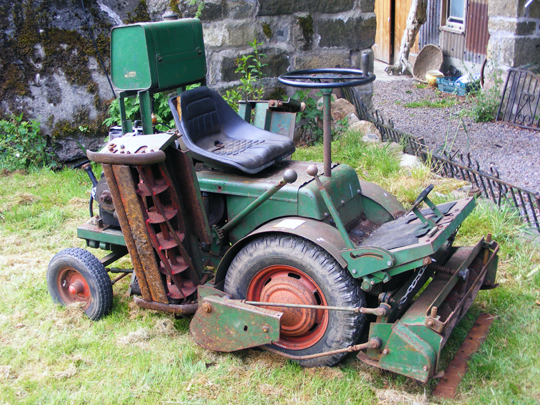 Ransomes Ride-On Mower