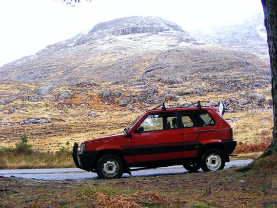 Classic Fiat Panda 4x4