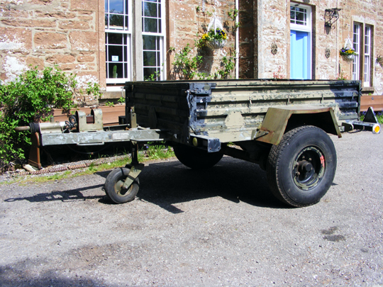 Arrows 1 3/4 ton trailer
