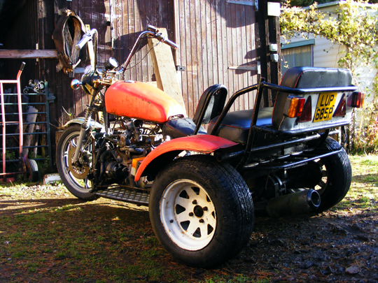 Reliant based trike