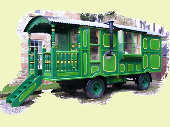 Bespoke Shepherds Huts & Showmans Living Vans