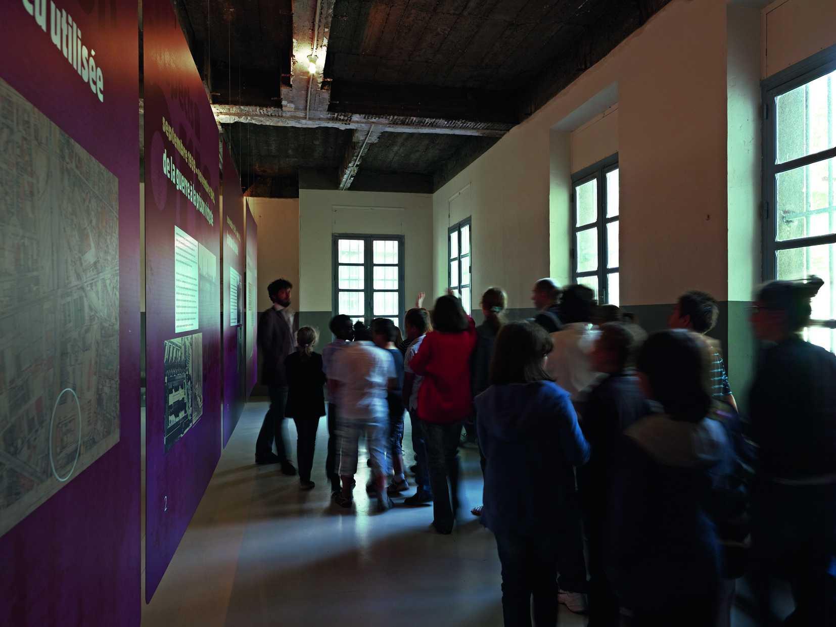 La salle d'exposition ® Frédéric Bellay