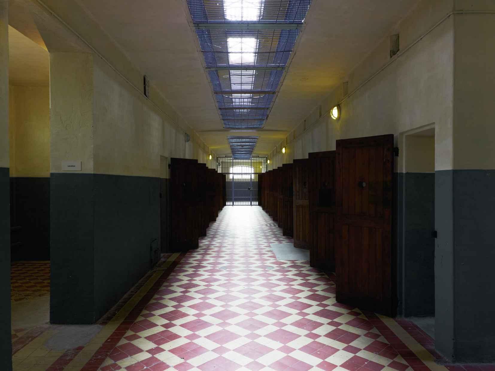 Le couloir cellulaire ® Frédéric Bellay