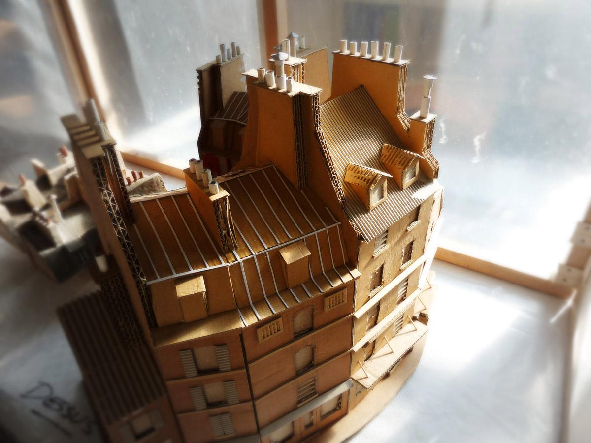 Modèles réduits de Paris : construction