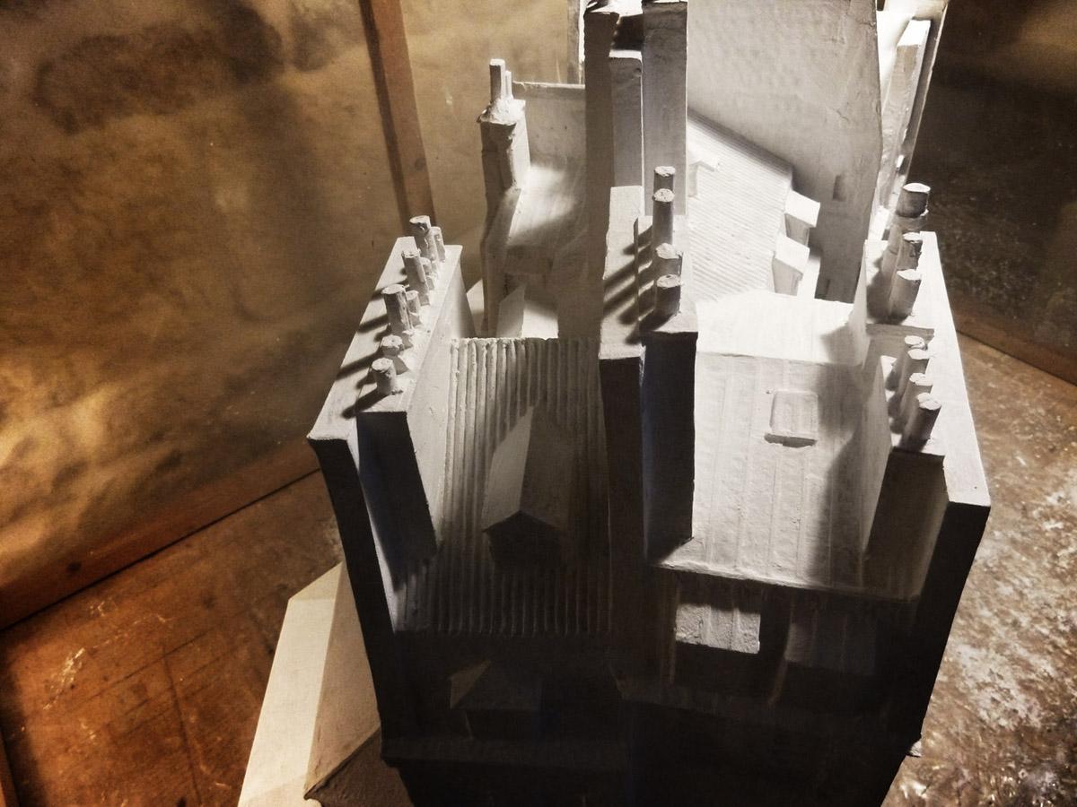 Modèles réduits de Paris : enduits