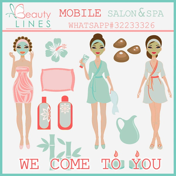 Book our beauticians for Spas that come to your house