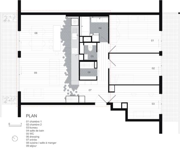 plan appartement obtenir