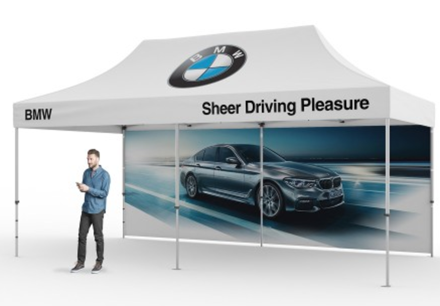automotive bmw outdoor tent