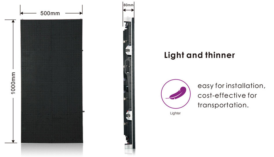 commercial led outdoor light thinner
