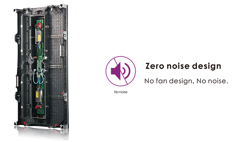 commercial led outdoor zero noise