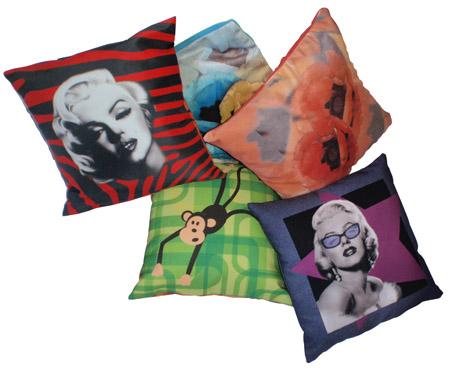 Anahuka Impression sur tissu pour coussins