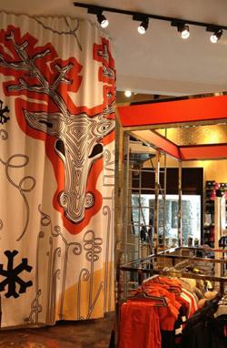 Anahuka impression personnalisée de rideaux